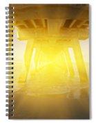 6x1 Under Venice Florida Fishing Pier Spiral Notebook