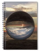 7-24-16--4250 Don't Drop The Crystal Ball, Crystal Ball Photography Spiral Notebook