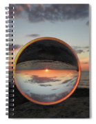 7-26-16--4581 Don't Drop The Crystal Ball, Crystal Ball Photography Spiral Notebook