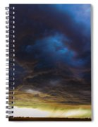 2nd Storm Chase 2015 Spiral Notebook