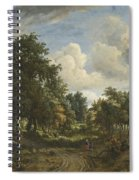 A Wooded Landscape Spiral Notebook