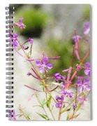 Alpine Wildflower Spiral Notebook