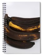 Banana Ripening Sequence Spiral Notebook