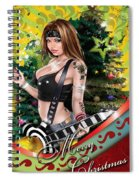 Christmas Greetings Spiral Notebook