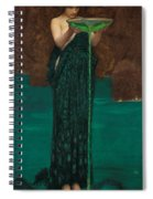 Circe Invidiosa  Spiral Notebook