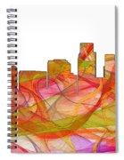 Corpus Christi Texas Skyline Spiral Notebook
