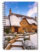 Cottage Spiral Notebook