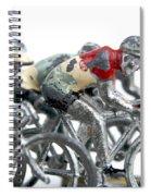 Cyclists Spiral Notebook