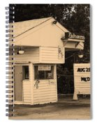 Drive-in Theater Spiral Notebook
