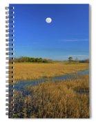 7- Everglades Moon Spiral Notebook