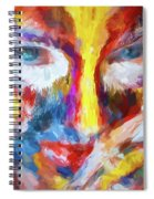 Face Paint Spiral Notebook