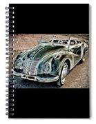 Former East Germany I F A Car Spiral Notebook