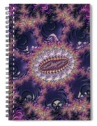 Fractal, Pattern, Kaleidoscope, Art Spiral Notebook