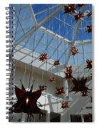 Hanging Butterflies Spiral Notebook