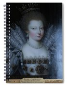 Inside Chantilly Castle France Spiral Notebook