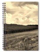 Iowa Cornfield Spiral Notebook