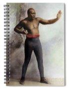 Jack Johnson, 1878-1946 Spiral Notebook