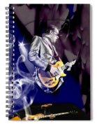 Joe Bonamassa Blues Guitarist Art Spiral Notebook