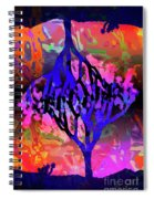 Joshua Tree With Special Effects Spiral Notebook