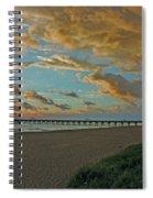7- Juno Beach Pier Spiral Notebook