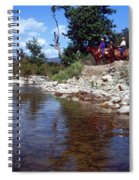 Lower Sisquoc River - San Rafael Wilderness Spiral Notebook