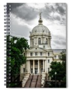 Mc Lennan County Courthouse - Waco Texas Spiral Notebook