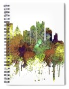 Pittsburgh Pennsylvania Skyline Spiral Notebook