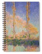 Poplars Spiral Notebook