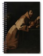 Saint Francis In Meditation Spiral Notebook