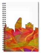 San Jose California Skyline Spiral Notebook