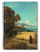 Sicilian Scene Spiral Notebook