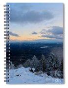 Spencer Butte Winter Summit, Eugene Oregon Feb 2018 Spiral Notebook