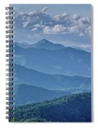 Springtime In The Blue Ridge Mountains Spiral Notebook