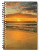 Sunrise Seascape At The Beach Spiral Notebook