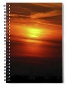 7- Sunset Spiral Notebook