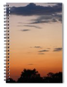 Sunset Moreno Valley Ca Spiral Notebook