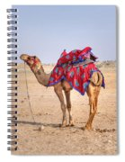 Thar Desert - India Spiral Notebook