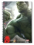 The Avengers Age Of Ultron 2015 Spiral Notebook