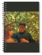 The Promise Walker Henry Scott Tuke Spiral Notebook