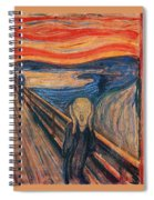 The Scream Ver 1893 Edvard Munch Spiral Notebook