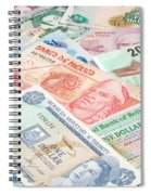 Travel Money - World Economy Spiral Notebook