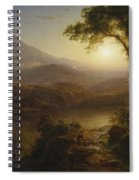 Tropical Scenery Spiral Notebook
