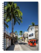 Tuk Tuk Trike Taxi Local Transport In Boracay Island Philippines Spiral Notebook
