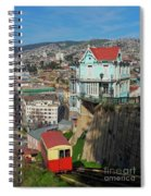 Valparaiso, Chile Spiral Notebook