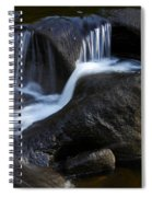Water Flowing Spiral Notebook