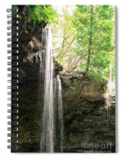Waterfall Spiral Notebook