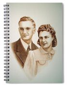 70 Years Together Spiral Notebook