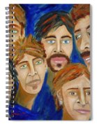 70s Band Reunion Spiral Notebook
