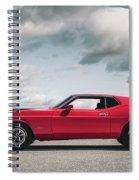 72 Mustang Spiral Notebook