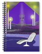 728 Sometimes At Night She Still Appears                   Spiral Notebook